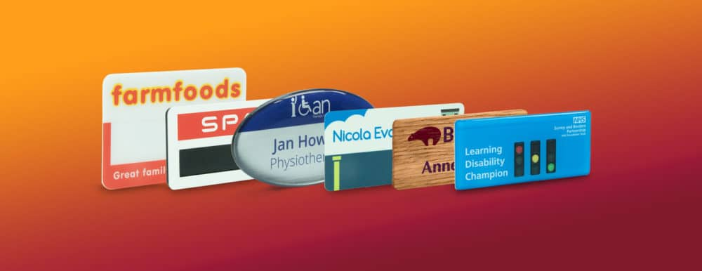 Personalised Name Badges UK Manufactured