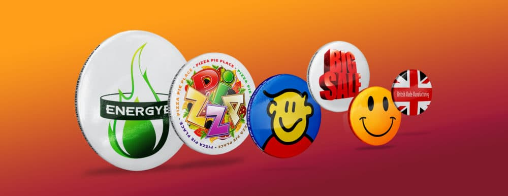Promotional Button Badges UK Manufactured