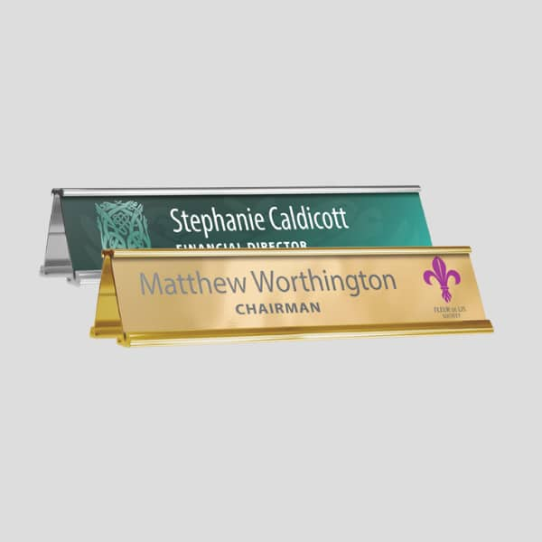 Name Plate Holders Double or single Sided