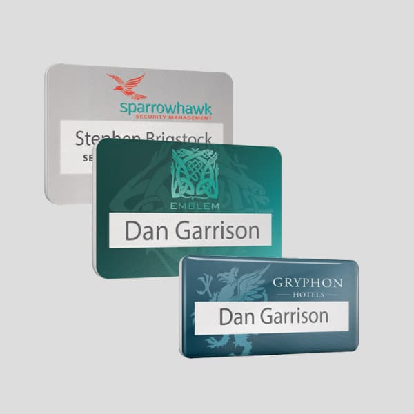 Conference and Event Name Badges UK Manufactured